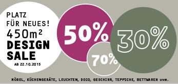 ... Startet Am 22.10. Unser Großer DESIGN SALE! Auf 450m² Finden Sie Möbel,  Küchengeräte, Dekoration Und Vieles Mehr U2013 Vieles Bis Zu 70% Reduziert!