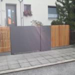 Metallarbeiten Gartentor