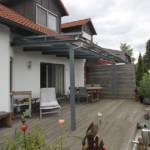 Metallarbeiten Terrassendach