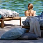 Polsterbezugsstoffe outdoor Bezugsstoffe Fischbacher Fabrics Sonnenpause
