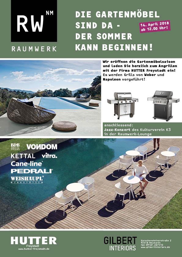 Gartenmoebel-Aktion PDF-Einladung