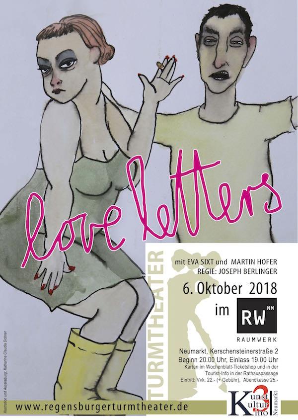 Turmtheater Regensburg: Love letters
