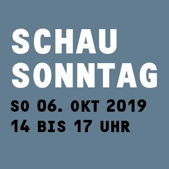 Schausonntag-10-2019