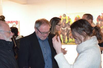 Ausstellungseröffnung Anna Meier