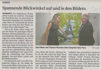 Presseberichte Kunstausstellung