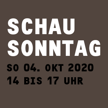 Schausonntag-okt-2020